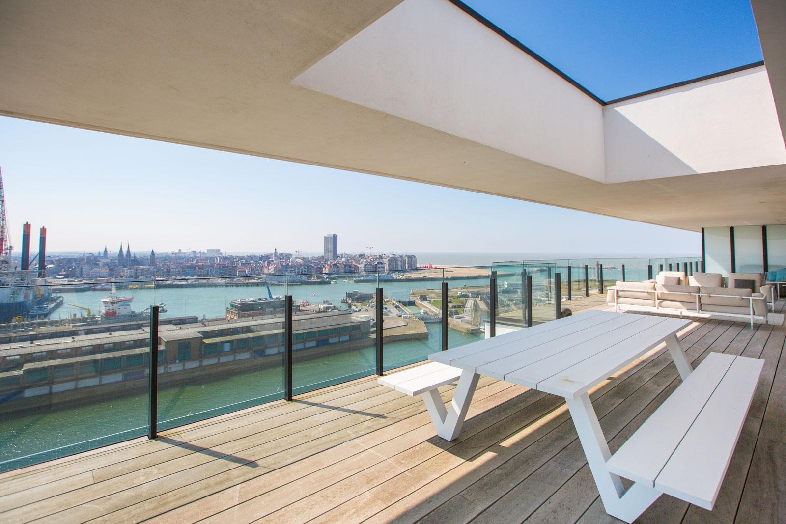Vakantieappartement met zicht op de haven Oostende